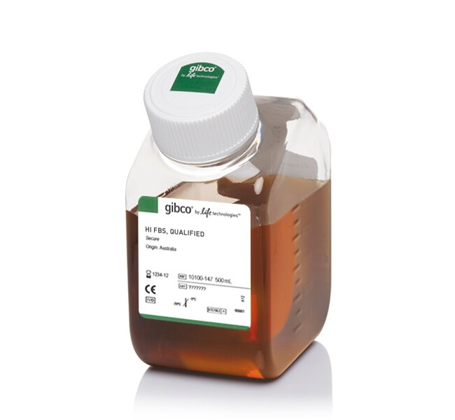 Fetal Bovine Serum, qualified, heat inactivated, Australia origin