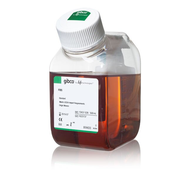 Fetal Bovine Serum, qualified, USDA-approved regions