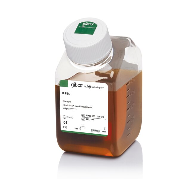 Fetal Bovine Serum, qualified, heat inactivated, USDA-approved regions