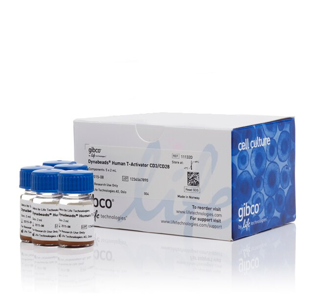 Dynabeads® Human T-Activator CD3/CD28 for T Cell Expansion and Activation