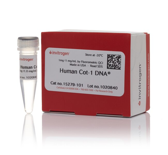 Human Cot-1 DNA®-Fluorometric QC