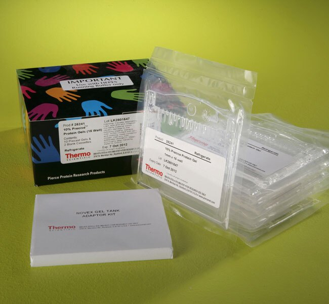 Precise™ 10% Tris-HEPES Gels, 5.8 cm x 8 cm x 1 mm, 15-Well