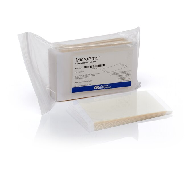 MicroAmp® Clear Adhesive Film