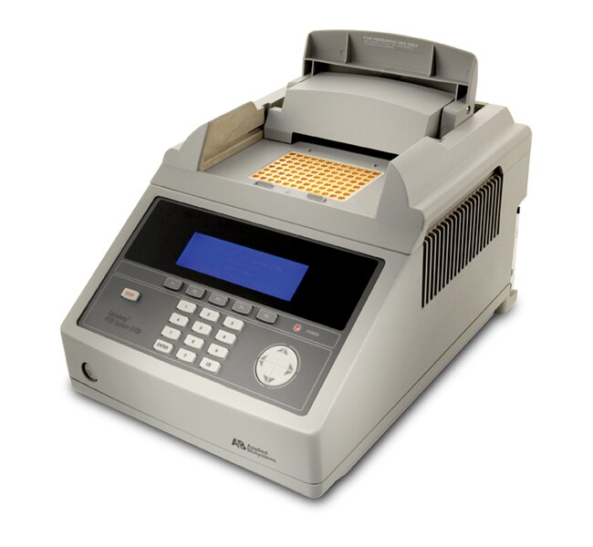 GeneAmp® PCR System 9700, 96-Well Gold-Plated