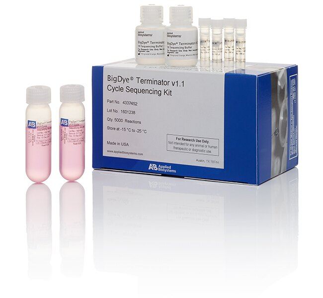 BigDye® Terminator v1.1 Cycle Sequencing Kit