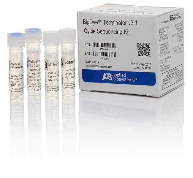 BigDye® Terminator v3.1 Cycle Sequencing Kit