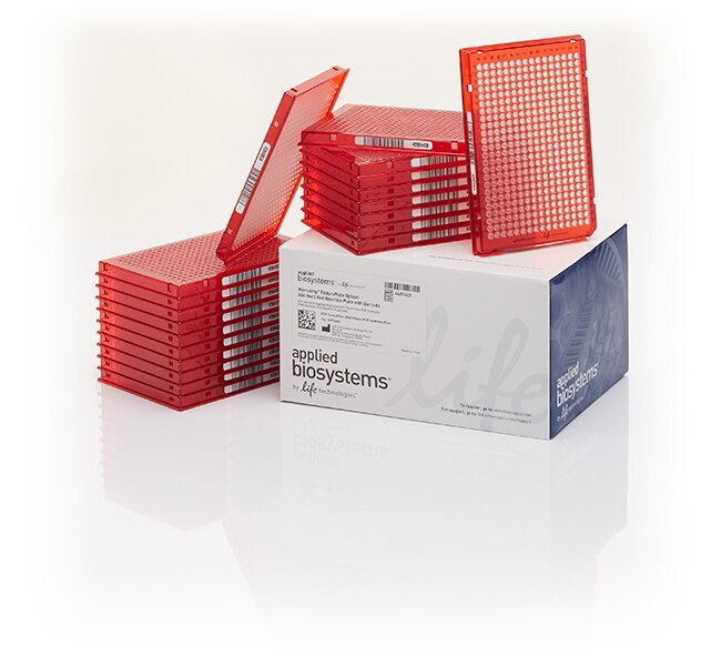 MicroAmp® EnduraPlate™ Optical 384-Well Red Reaction Plates with Barcode