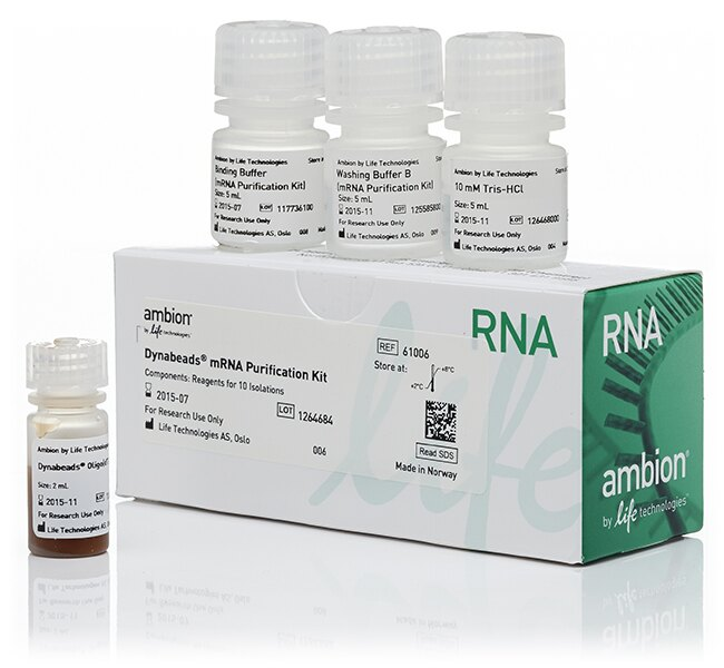 Dynabeads® mRNA Purification Kit (for mRNA purification from total RNA preps)