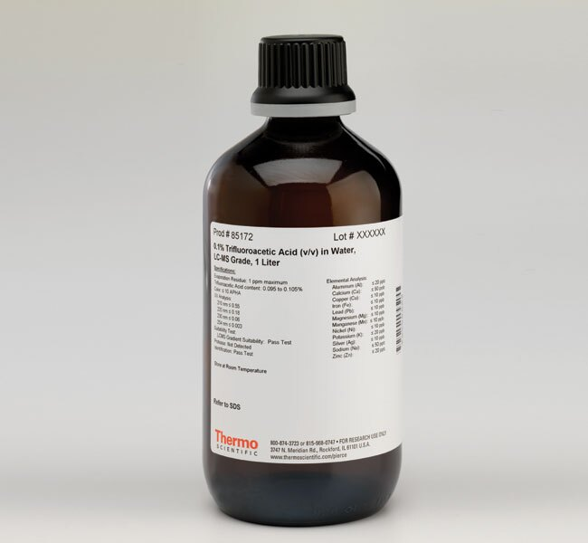 Pierce™ 0.1% Trifluoroacetic Acid (v/v) in Water, LC-MS Grade