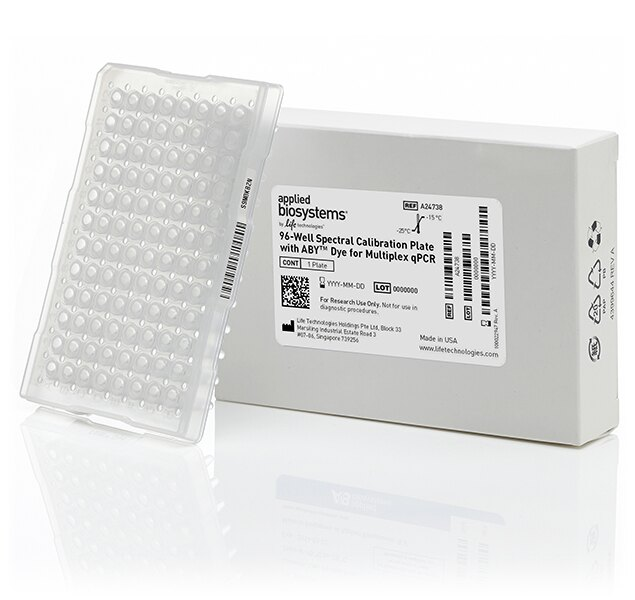 ABY® Dye Spectral Calibration Plate for Multiplex qPCR, 96-well