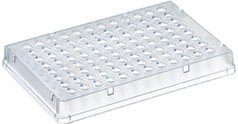 PCR Plate, 96-well, low profile, skirted, sterile