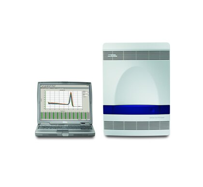 7500 Fast Real-Time PCR System, laptop
