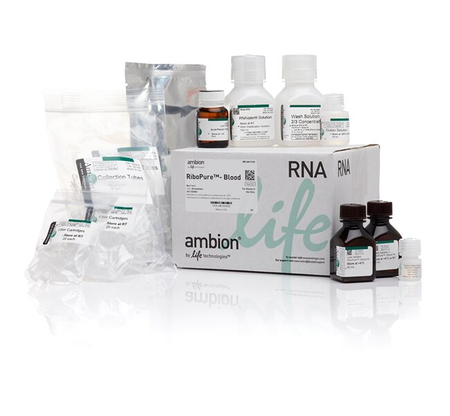 RiboPure™ RNA Purification Kit, blood