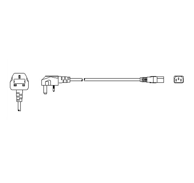 EVOS® Power Cord, Type G (United Kingdom)
