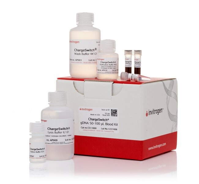 ChargeSwitch® gDNA Blood Kit, 50-100 µL