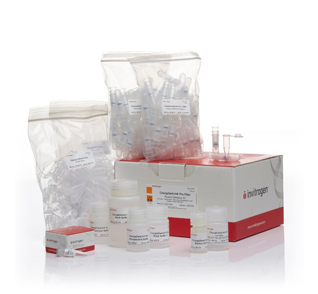 Chargeswitch® Pro Filter Plasmid Mini Kit