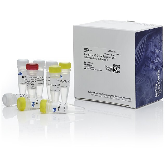 AmpliTaq® DNA Polymerase with Buffer II (5,000 units/tube)