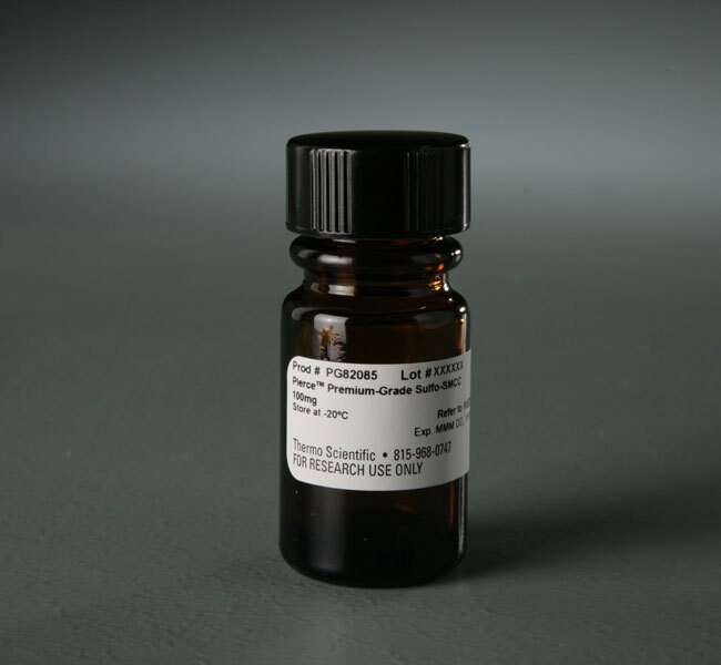 Pierce™ Premium Grade Sulfo-SMCC (sulfosuccinimidyl 4-(N-maleimidomethyl)cyclohexane-1-carboxylate)
