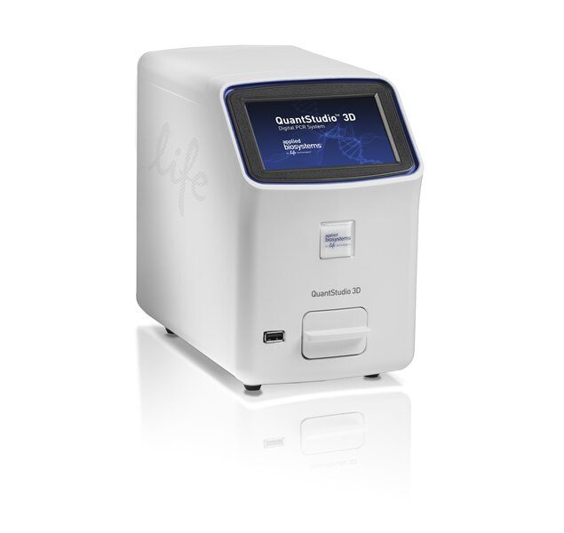 QuantStudio™ 3D Digital PCR Instrument with Power Cord