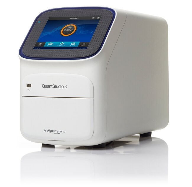 QuantStudio® 3 Real-Time PCR System, 96-well, 0.2 mL, desktop