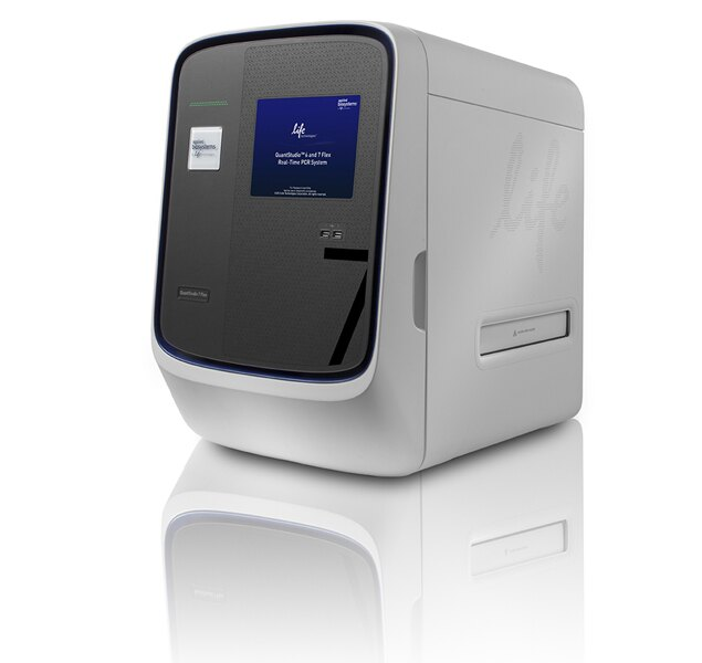 QuantStudio™ 7 Flex Real-Time PCR System, 96-well Fast, laptop
