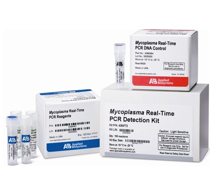 MycoSEQ™ Mycoplasma Detection Kit, with Discriminatory Positive Control & sample preparation