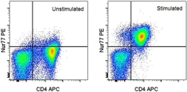 Nur77 Antibody (12-5965-80) in Flow Cytometry