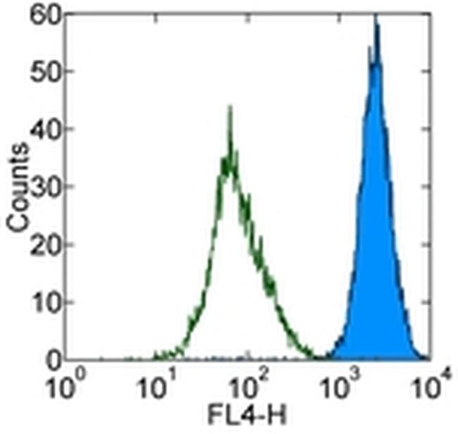 CD144 (VE-cadherin) Antibody (17-1449-42) in Flow Cytometry