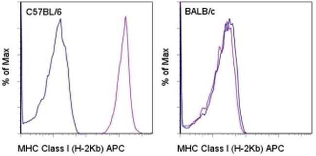 MHC Class I (H-2Kb) Antibody (17-5958-80) in Flow Cytometry