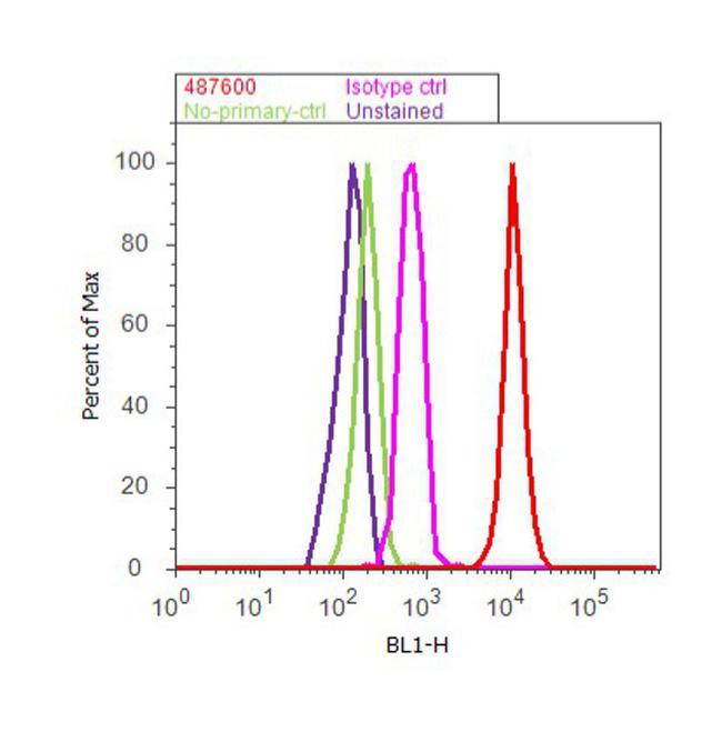 CK1 epsilon Antibody (487600) in Flow Cytometry