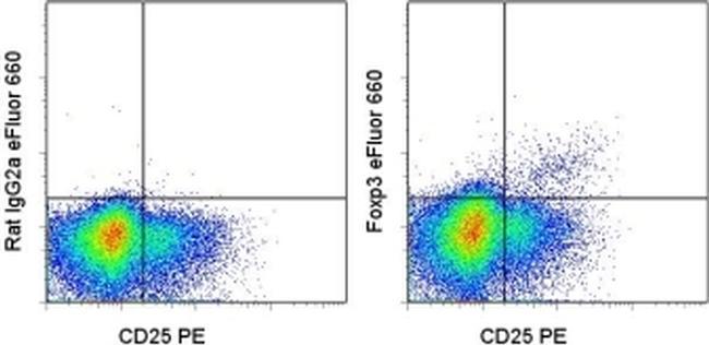FOXP3 Antibody (50-4776-41) in Flow Cytometry