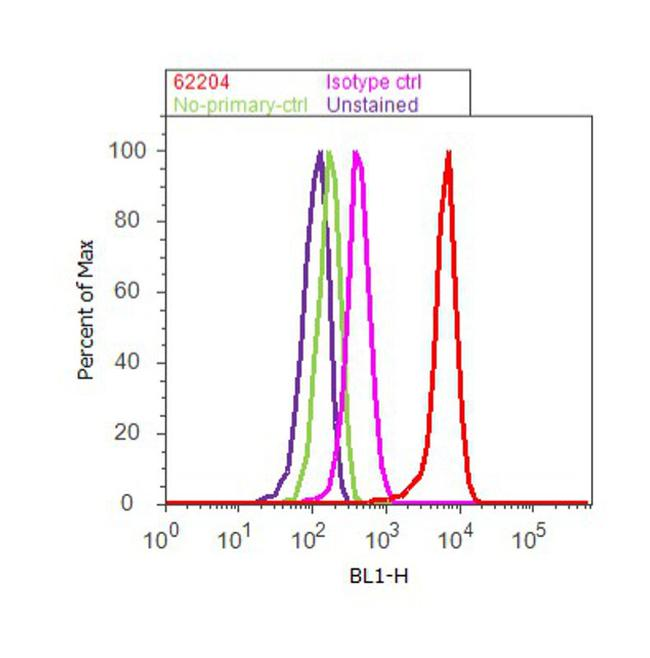 alpha Tubulin Antibody (62204) in Flow Cytometry
