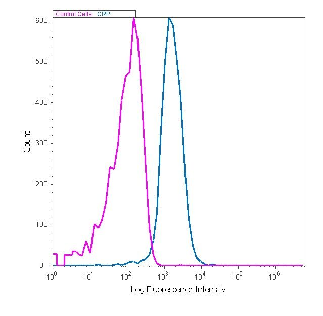 CRP Antibody (710269) in Flow Cytometry