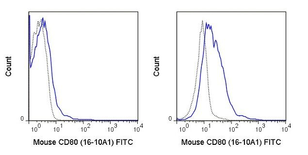 CD80 Antibody (A18657) in Flow Cytometry