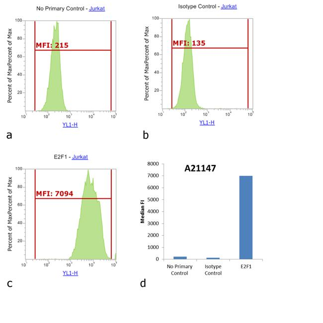 Mouse IgG2b Cross-Adsorbed Secondary Antibody (A-21147) in Flow Cytometry