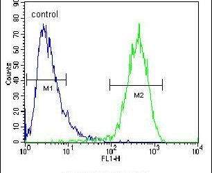 MRP10 Antibody (PA5-23652) in Flow Cytometry