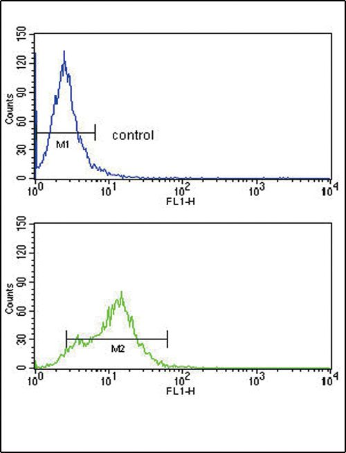 ACVRL1 Antibody (PA5-14922) in Flow Cytometry