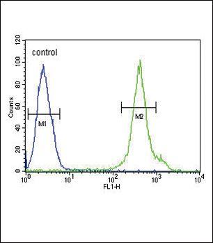 Adiponectin Receptor 2 Antibody (PA5-25029) in Flow Cytometry