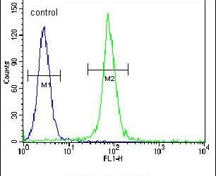 ADO Antibody (PA5-24556) in Flow Cytometry