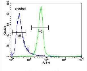 ANR52 Antibody (PA5-24295) in Flow Cytometry