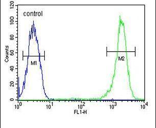 Caspase 3 Antibody (PA5-23921) in Flow Cytometry