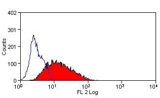 LAMP2 Antibody (MA5-16561) in Flow Cytometry
