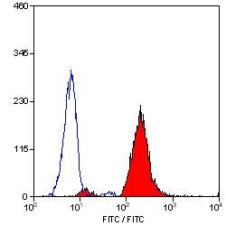 CD18 Antibody (MA1-80643) in Flow Cytometry