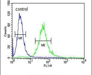 CEA Antibody (PA5-13438) in Flow Cytometry