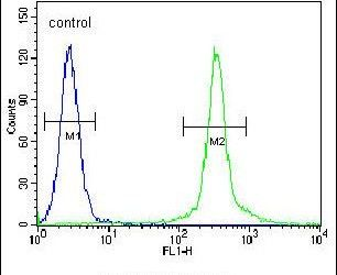 CMPK2 Antibody (PA5-25130) in Flow Cytometry