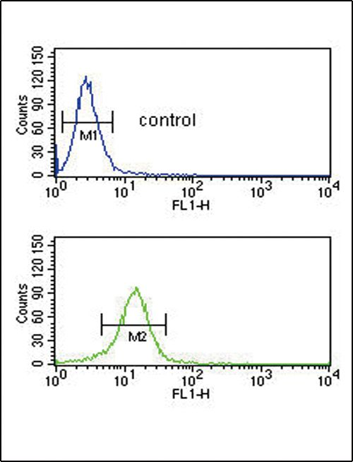 COL5A2 Antibody (PA5-14245) in Flow Cytometry