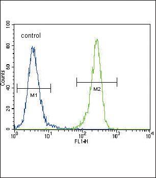 MCK10 Antibody (PA5-14177) in Flow Cytometry