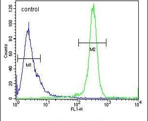 DENND5A Antibody (PA5-24015) in Flow Cytometry