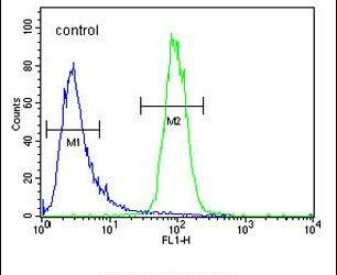 DPY19L1 Antibody (PA5-24345) in Flow Cytometry