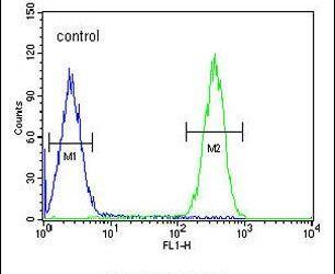 FBXW12 Antibody (PA5-23773) in Flow Cytometry